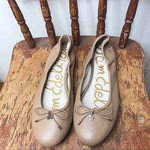 Sam Edelman | Felicia flat nude leather classic